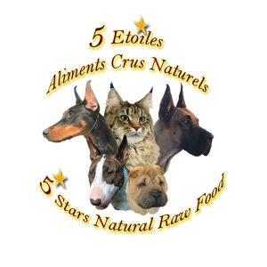 Aliments crus naturels 5 étoiles